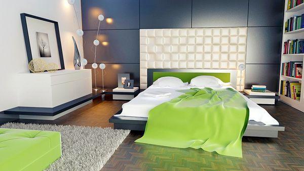 bedroom wall panel