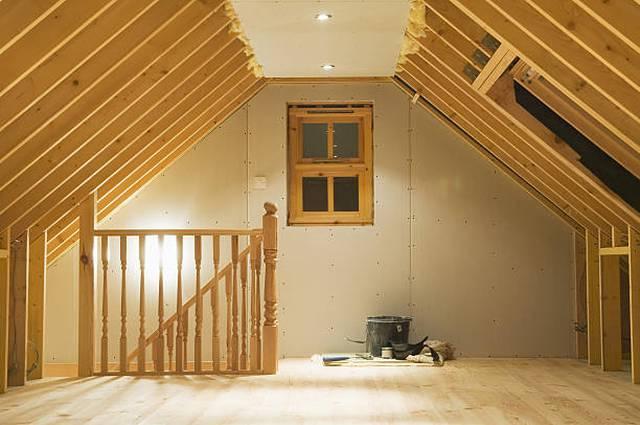converted-attic-space, loft