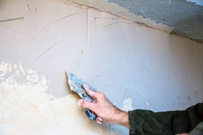 fixing wall