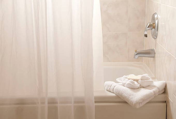 shower-curtain-tub-towel