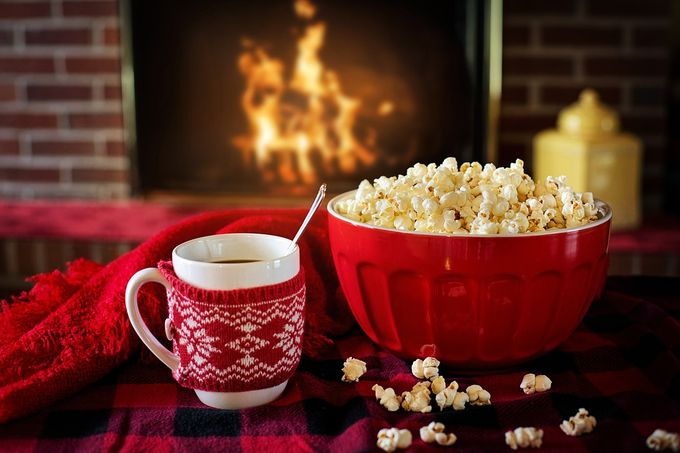 popcorn-coffee